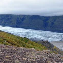Skaftafell Glacier - Iceland - glacial t