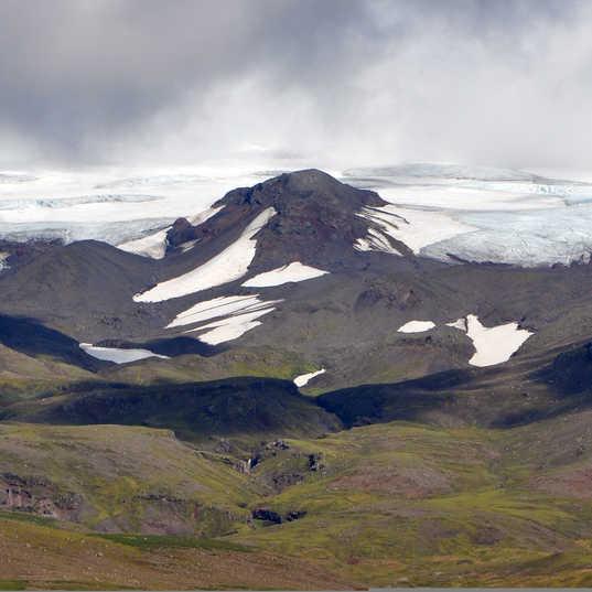 Vatnjokull Ice Cap - Iceland - southern