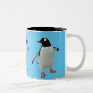 Dancing Penguin Mug