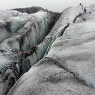 Svinafellsjokull - Iceland (4) - crevass