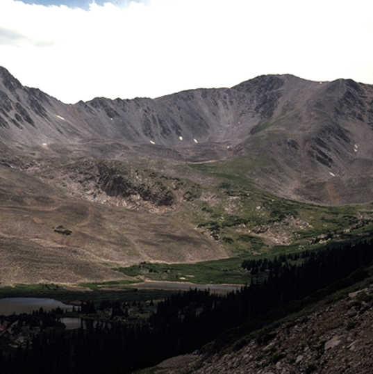 Mt Antero Colorado - glacial landforms.j