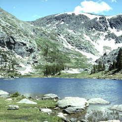 Cirque with tarn - Rocky Mountain NP - 1