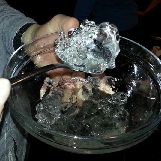 Glacial ice for dinner - Iceland.jpg