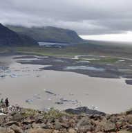 Skaftafell Glacier - Iceland - terminus