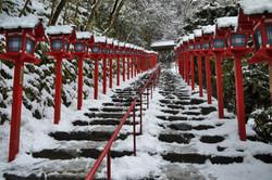 貴船神社冬