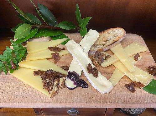 Assiette de fromages du moment