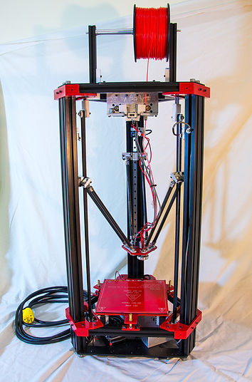 Finished build of 3d delta printer