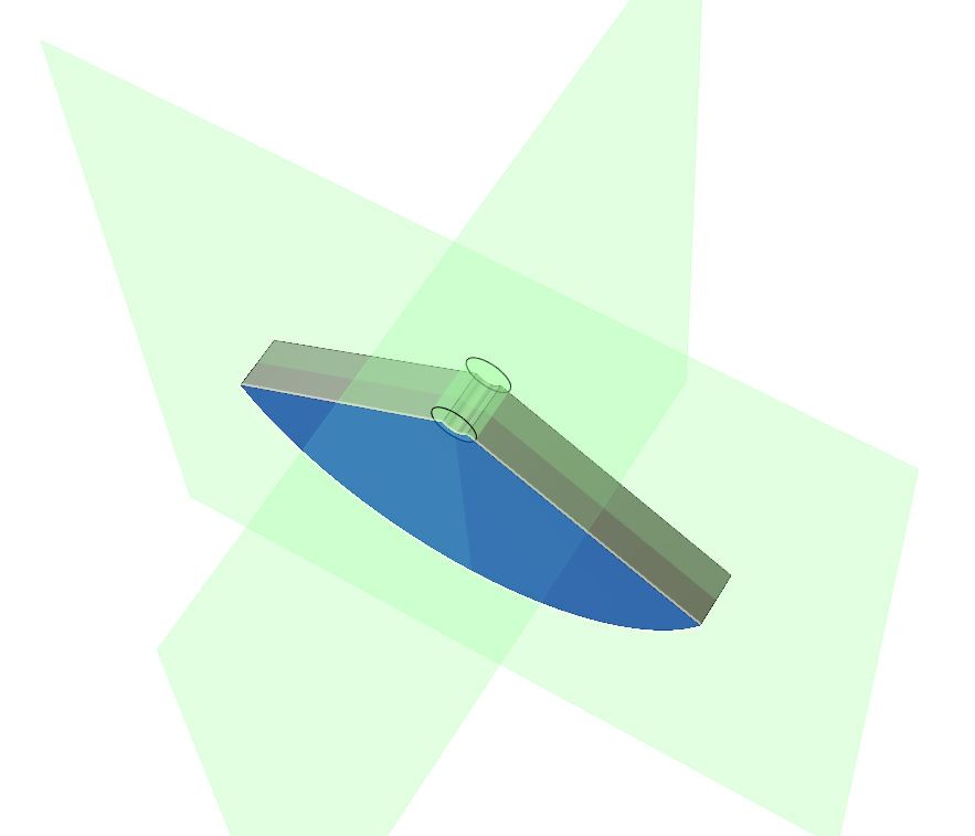 using planes of symmetry to reduce simulation solve time in autodesk fusion 360