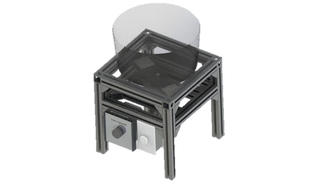 Magnetic Deburr Machine