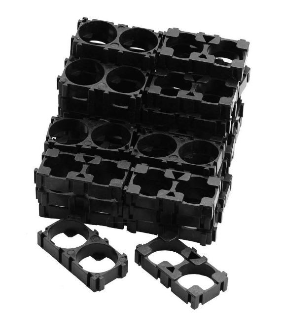 plastic 18650 lithium ion cell battery holder