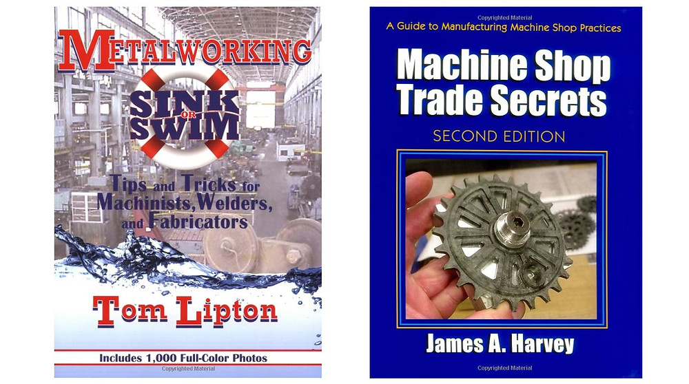 Recommended books for learning more about metalworking and machining