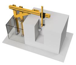 Automated CNC Gantry Loader
