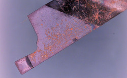 Lathe Insert Under The Microscope
