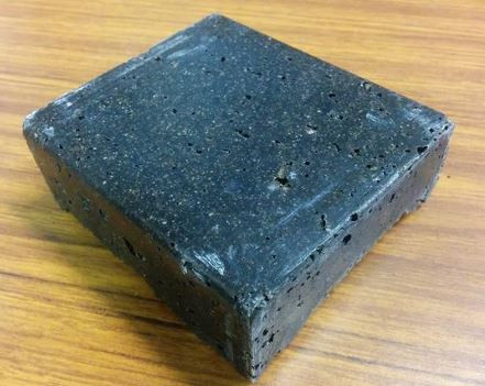 prototype of epoxy granite mixture