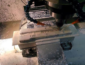 CNC machining the frame of the linear stage