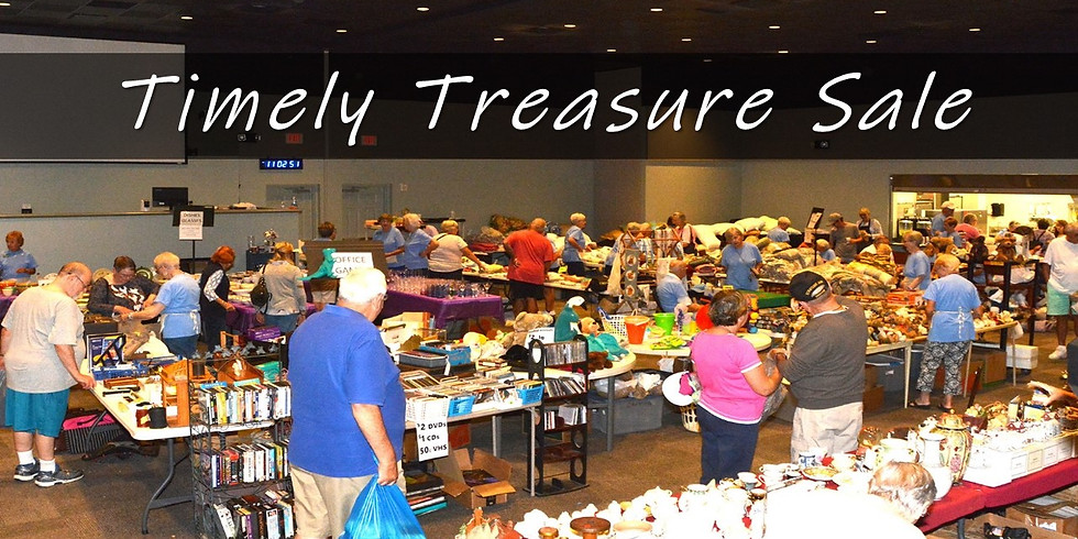 Timely Treasure Sale