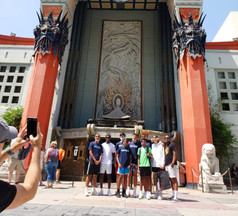 Chinese Theatre with the Fam