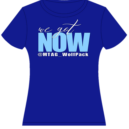 We Got Now Tee with Team Name/Media Handle