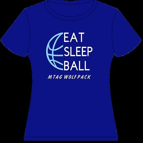 Eat Sleep Ball Spirit Tee