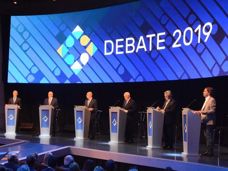 El debate, ¿fue un debate?