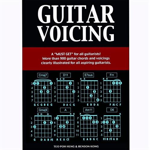 Guitar Voicing Book - Teo Poh Heng & Benson Kong