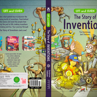 Cover Artwork Story of inventions Old Dungate Press
