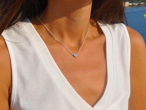 Coeur pendentif en Argent 925k