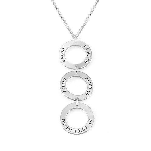 trois cercle collier