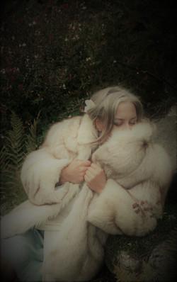 Makarora Fur Co. Blue Fox Fur Jacket 1