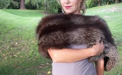 Makarora Fur Co. Silver Fox Fur Boa 3 (1)