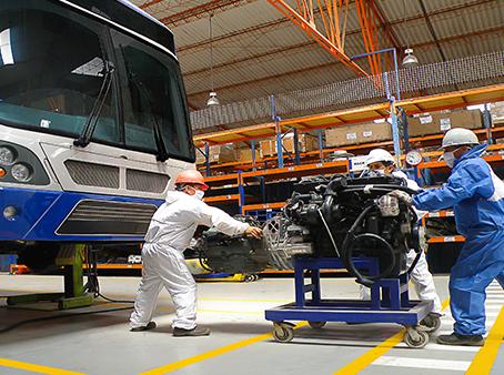 Modasa certifica como el primer taller autorizado de conversión de Diesel a GNV para vehículos pesad