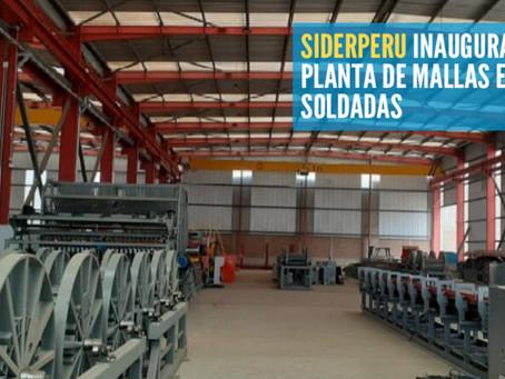 SIDERPERU inaugura nueva planta de mallas electro-soldadas