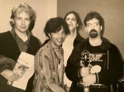 Steve Gustafson, Rudy Valentino III, Jamie, Dennis Drew