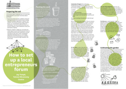 How to set up & run a Local Entrepeneur Forum
