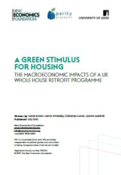 Green stimulus for housing report
