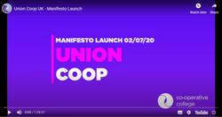 Union Coop UK - Manifesto Launch
