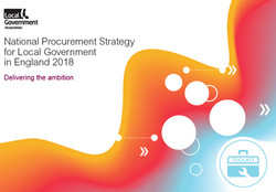 National Procurement Strategy