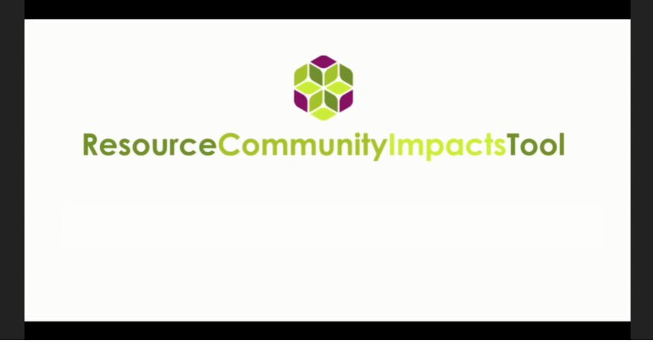 Community Impacts Tool
