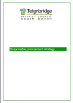Teignbridge DC Responsible Procurement Strategy
