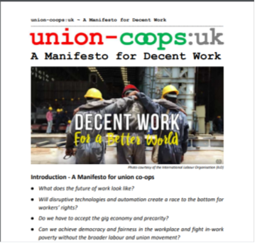 Union coops manifesto