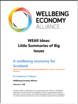 wellbeing economy scotland