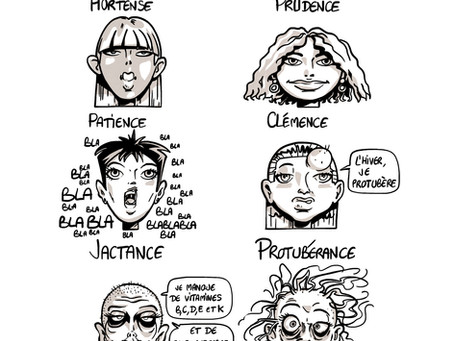Les prénoms féminins en ence/ance