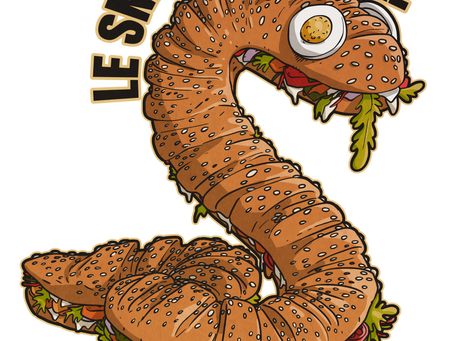 Le snacking-snake