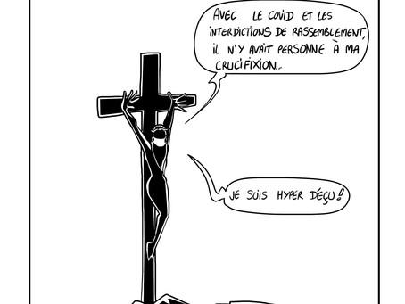 3 nouveaux dessins de Jésus