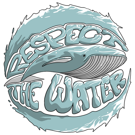 Respect the Water - Baleine