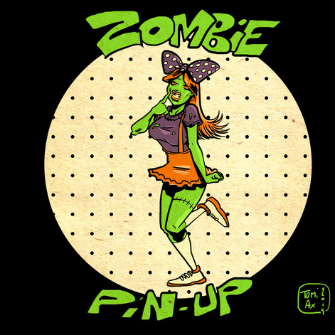 Pin-up zombie 1
