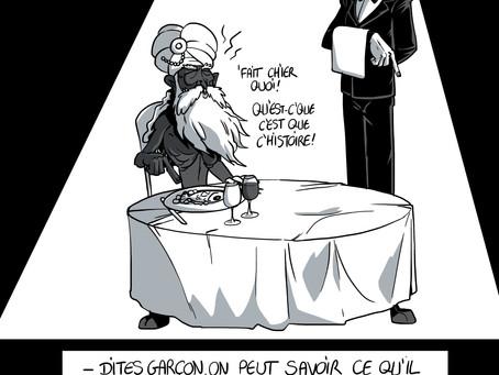 2 dessins de Planchakhlu le fakir