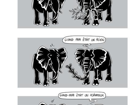 2 pages de variations éléphantines