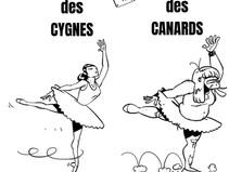 """Dessin avec pour thème """"Les ballets de danse classique"""""""