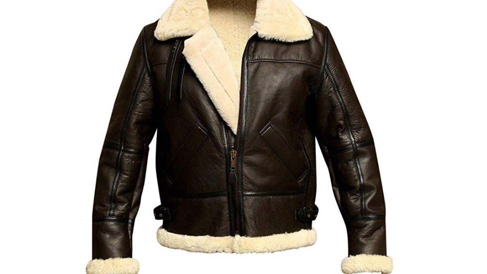 Sheepskin WWII B3 Bomber Jacket
